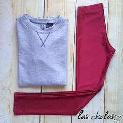 leggins brillosa