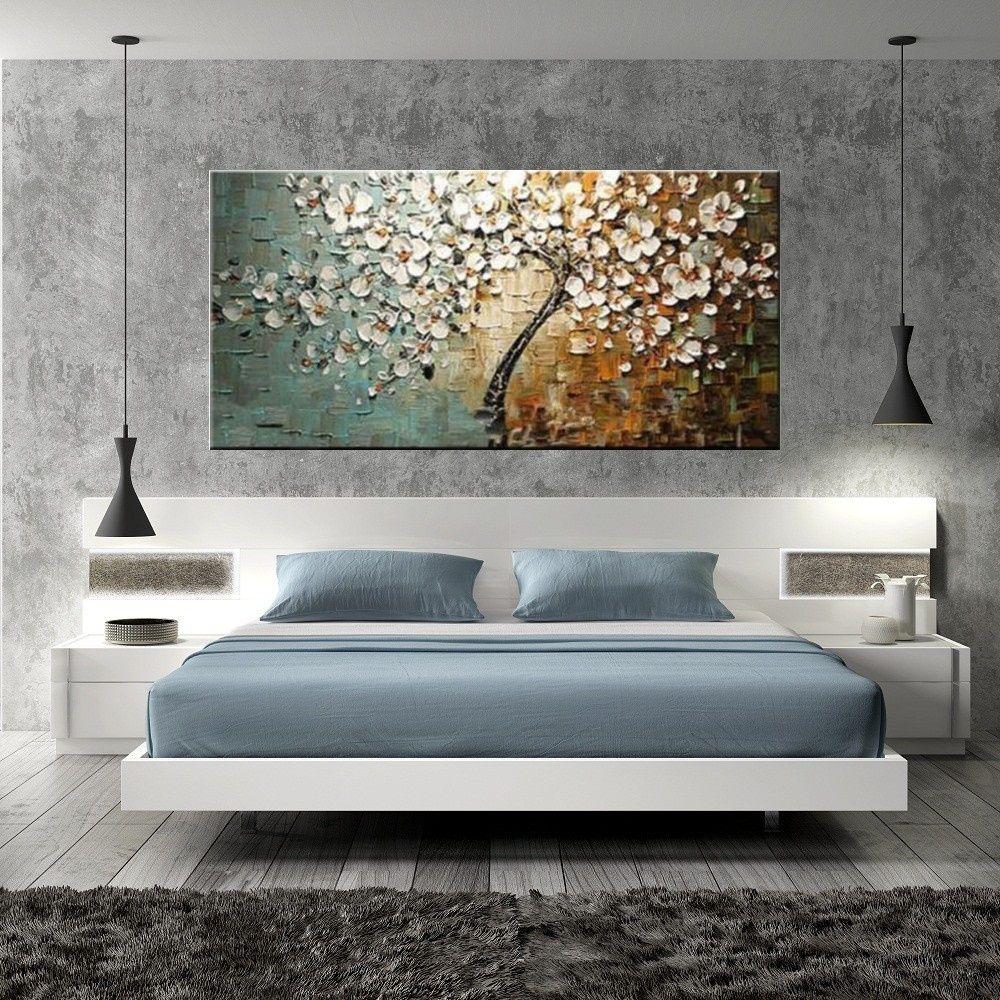 Quadros Abstratos Para Sala De Estar Duas Pinturas Modernas Em Tela  -> Quadro Abstrato Sala De Jantar