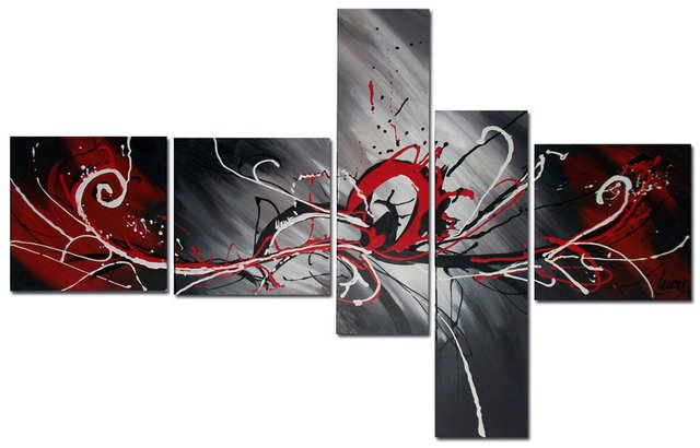 Quadro Decorativo Abstrato Moderno Cod 113