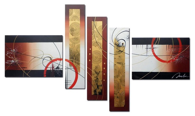 Quadro Decorativo Abstrato Moderno Cod 133 na internet