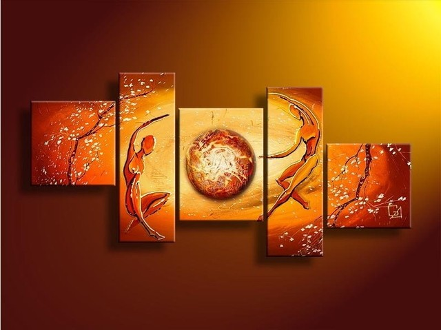 Quadro Decorativo Abstrato Cod 1704