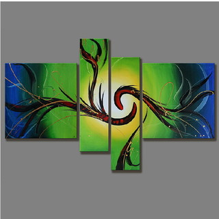 Quadro Decorativo Abstrato Cod 1718