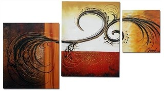 Quadro Decorativo Abstrato Moderno Cod 281 na internet