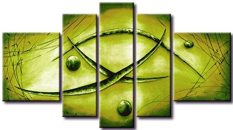 Quadro Decorativo Abstrato Moderno Cod 298