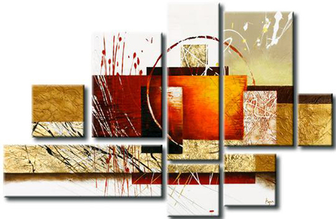 Quadro Decorativo Abstrato Moderno Cod 382