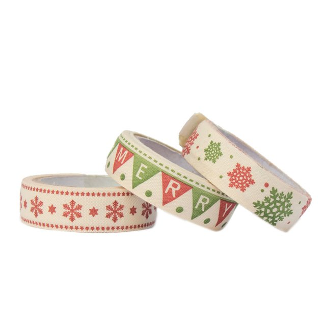 Set 2 de 3 washi tapes navidad en internet