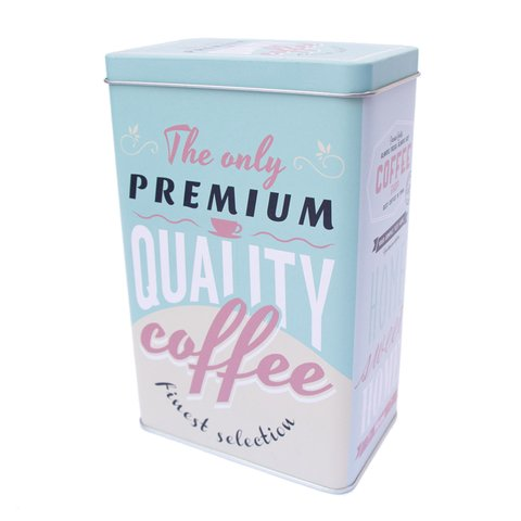 Lata Quality coffee aqua