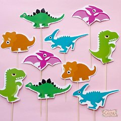 Set Pinches + guirnalda dinos - AIRE objetos decorativos
