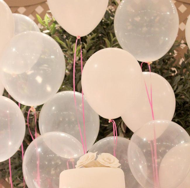 globos transparentes cristal de 12 x 10 unidades