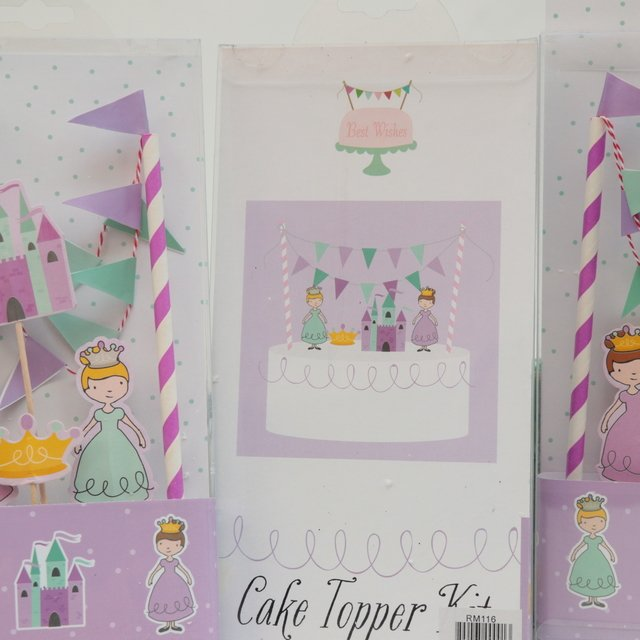Kit Cake Topper Princesas en internet