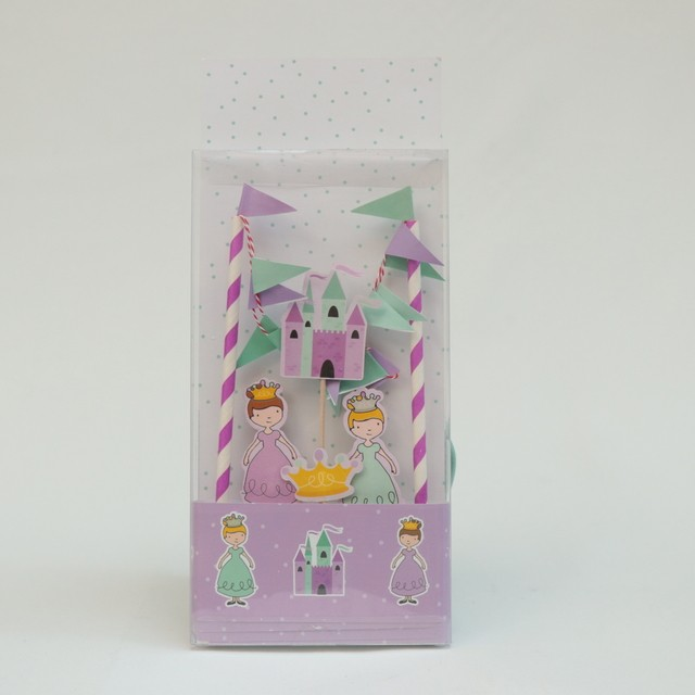 Kit Cake Topper Princesas