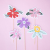 Toppers flores - comprar online