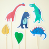 Toppers dinosaurios - comprar online