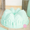 Molde bundt cake royal verde