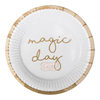 Platos magic day blancos 22 cm x 10 - comprar online
