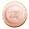 Platos magic day rosa 22 cm x 10 - comprar online