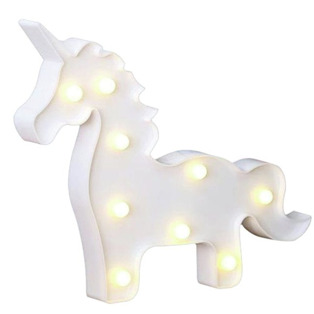 Cuerpito de unicornio luminoso - AIRE objetos decorativos