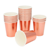 Vasos gold rose x 10 - AIRE objetos decorativos