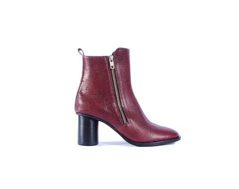 Botineta croco bordo Art 827