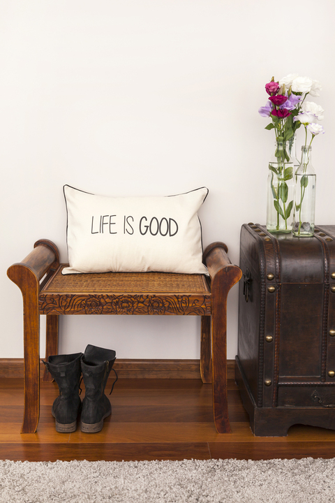 Almohadón LIFE IS GOOD - comprar online