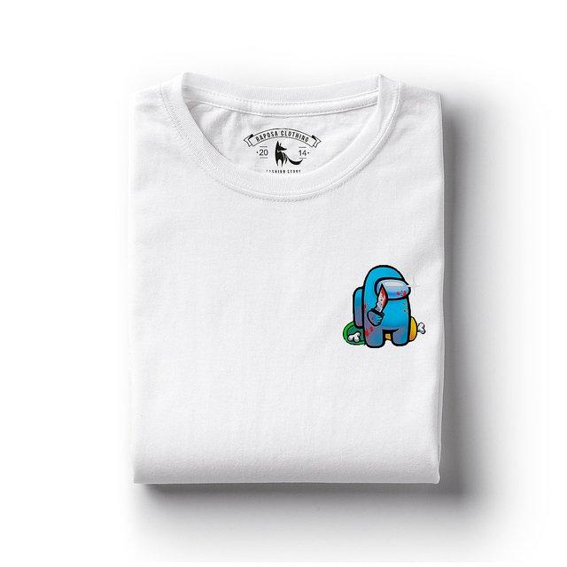 T Shirt Among Us Dead Comprar Em Raposa Clothing