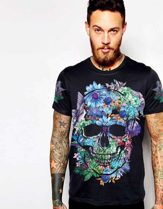 New collection blue skull - buy online