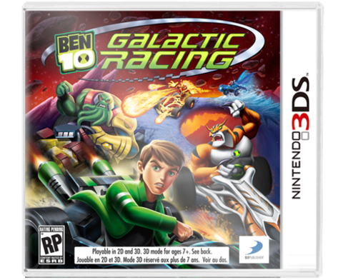 Ben 10 Galactic Racing 3DS