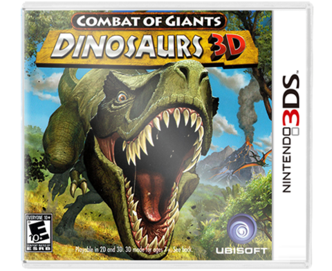 Combat of Giants Dinosaurs 3DS
