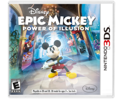Epic Mickey Power of Illusion 3DS