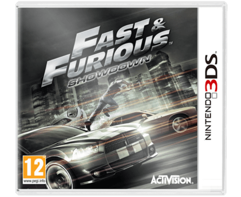 Fast Furious Showdown 3DS