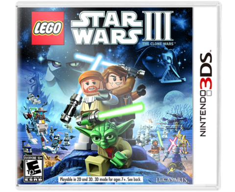 Lego Star Wars 3 3DS