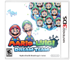 Mario & Luigi Dream Team Nintendo 3DS