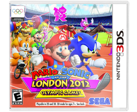 Mario & Sonic at The Olympic Games LONDON 2012 3DS