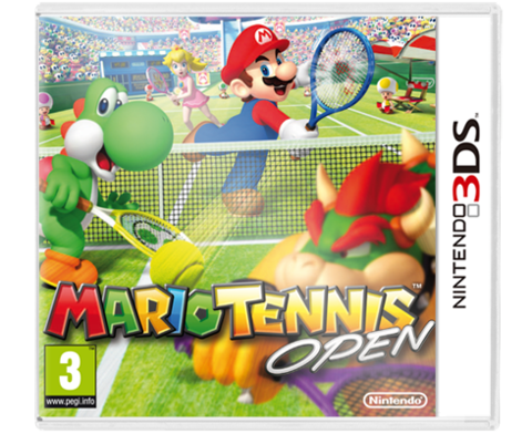 Mario Tennis Tenis 3DS