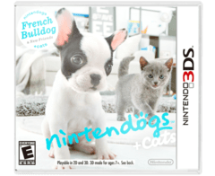Nintendogs & Cats French Bulldog 3DS