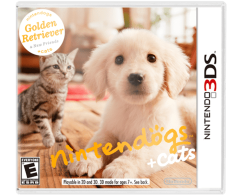 Nintendogs & Cats Golden Retriever 3DS