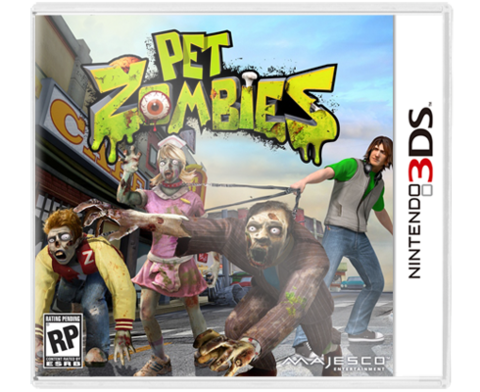 Pet Zombies 3DS