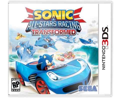 Sonic All Star Racing Transformed 3DS