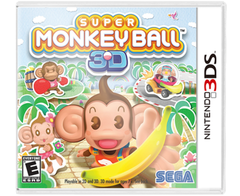 Super Monkey Ball 3DS