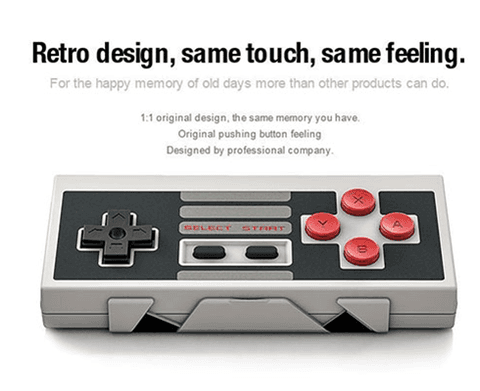 8Bitdo NES30 Bluetooth Wireless Classic NES Controller