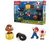 "SUPER MARIO Nintendo Acorn Plains 2.5"" Figure Multipack Diorama Set"