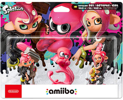 Amiibo Splatoon - Octoling Amiibo 3-pack