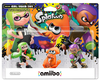 Amiibo Splatoon - Pack Girl / Squid / Boy  - ALT COLORS