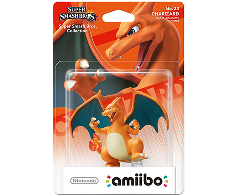 Amiibo Super Smash Bros. - Charizard