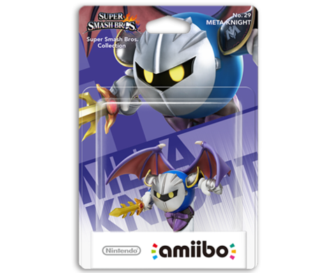 Amiibo Super Smash Bros. - Meta Knight