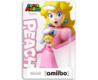 Amiibo Super Mario Bros. - Peach