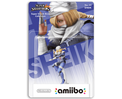Amiibo Super Smash Bros. - Sheik