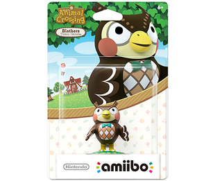 Amiibo Animal Crossing Series - Blathers