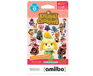 Amiibo Cards Animal Crossing - PACK de 6 Unidades - SERIES #4