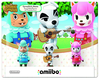 Amiibo Animal Crossing Series - Animal Crossing Series 3-Pack Amiibo